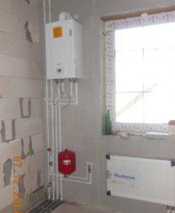 Монтаж системы отопления ТХ1