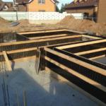 Утепление фундамента загородного дома. Вариант 1