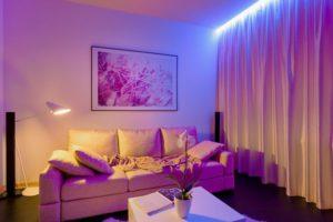 Омвещение жилого помещения. Вариант 5