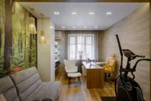 Омвещение жилого помещения. Вариант 6