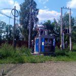 Ленэнерго подключили линию электропередачи по ул. Мельничная