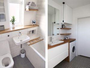 встроенная мебель в ванне