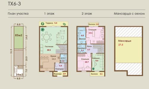 Дома от 133 кв.м. - от 5,773 млн.р