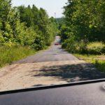 асфальтовая дорога в верхних венках в сойкино