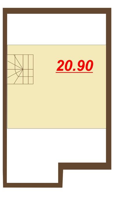Чертеж 3 этаж